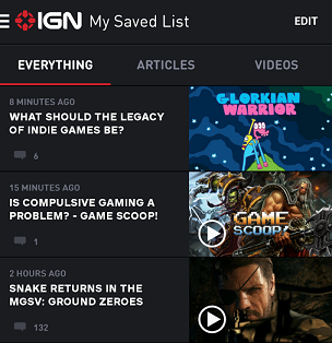 android apps for gamers - ign