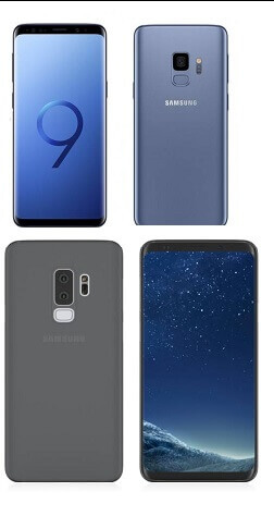 Samsung Galaxy S9, S9+ - best stylish smartphones
