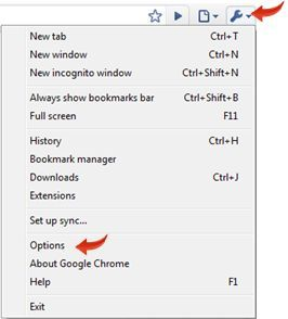 remove a particular website from history of google chrome - settings