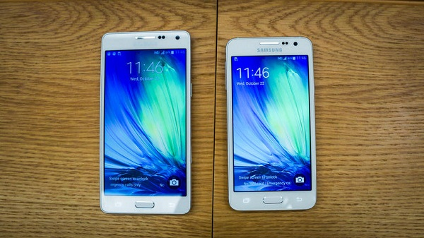 Samsung Galaxy A5 and A3