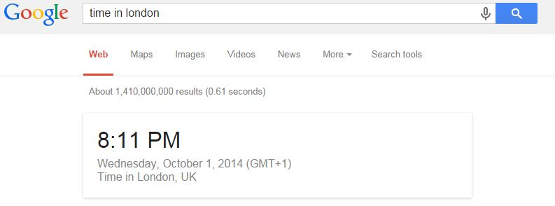 Google Facts-Check time with timezone