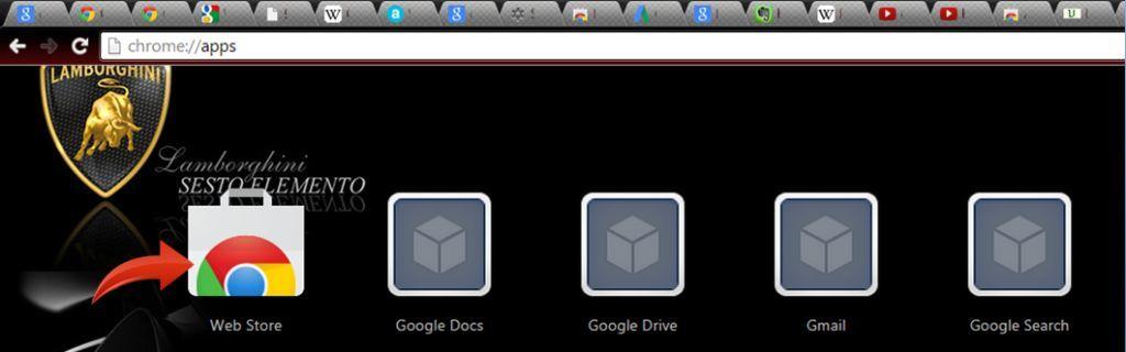 block ads on google chrome - web store