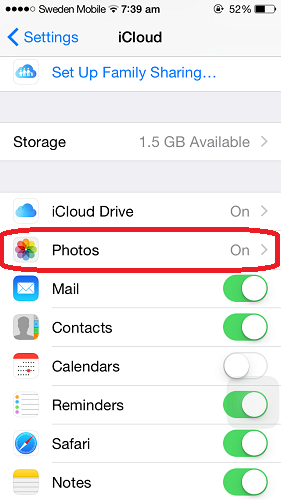 how to save photos to icloud and delete from iphone