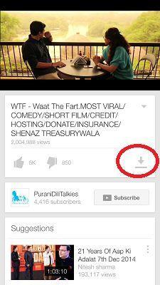 View YouTube videos offline