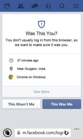 get back hacked facebook account - confirmation