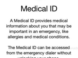 Set up Medical ID in case of an emergency in Health App for iPhone