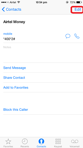 How to set a different ringtone for each contact on iPhone