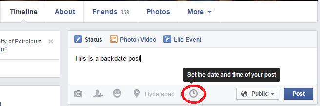 Schedule Posts on Facebook