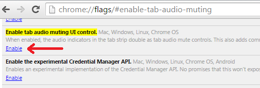 How to mute certain tab in google chrome