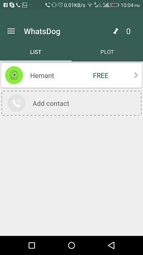 See Online Status in WhatsApp