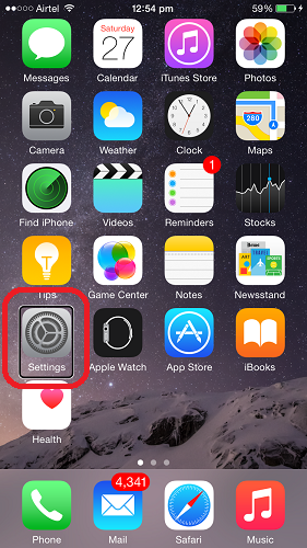 Turn Off VoiceOver in iPhone