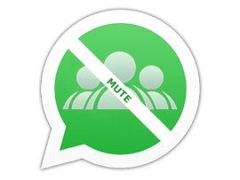 How to mute group in WhatsApp