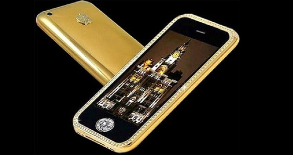 most expensive phones -gold_striker_iphone