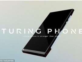 Turing Phone makes unbreakable, unhackable phone a reality