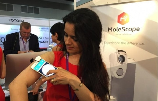 smart phones to detect skin cancer