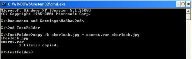 hide files - cmd-min