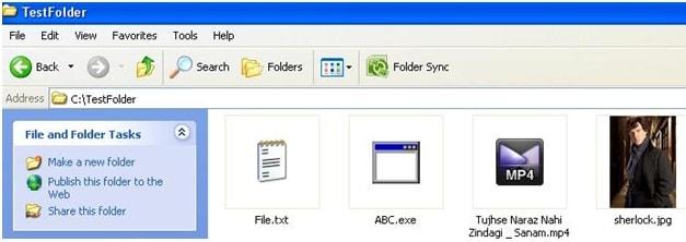 hide files - folder
