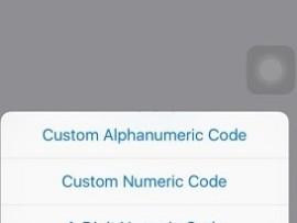 Set 6 digit, custom numeric, alphanumeric passcode in iPhone on iOS 9