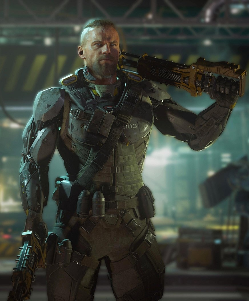 Call Of Duty Black Ops III at sony games week at paris