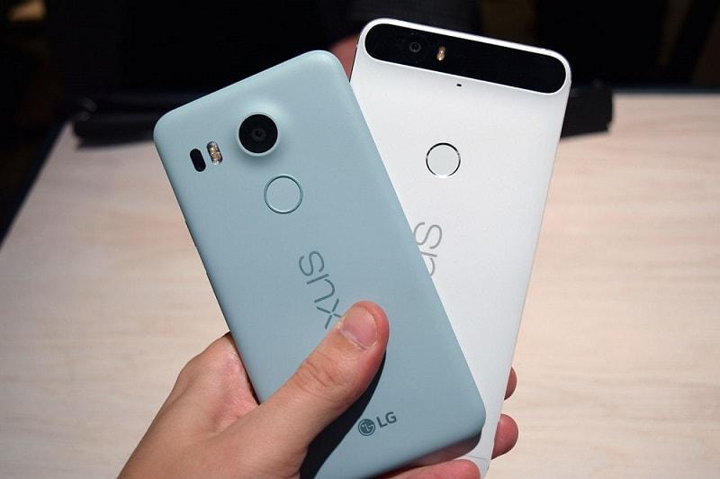 Google Nexus 5X vs Nexus 6P comparison