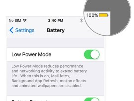 Easiest way to save battery in iPhone, iPad with iOS 9