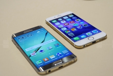 comparison between iphone 6 and samsung s6 edge