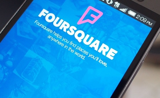 foursquare tips without the app installed