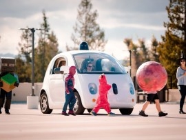 Google self driving cars learn to identify kids even when in costumes