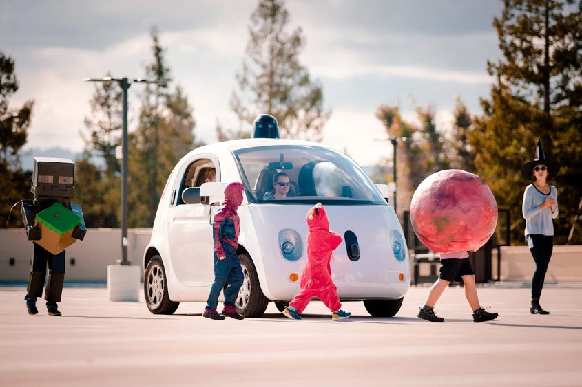 Google self-driving cars learn to identify kids