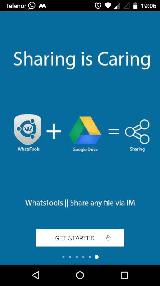 send larger files on WhatsApp