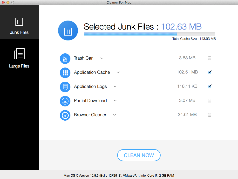 Doctor Disk Cleaner App review for Mac