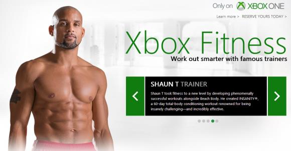 Xbox Fitness trainers