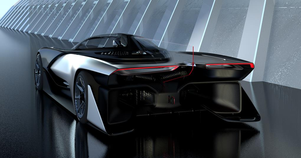 Faraday Future unveils Electric car at CES 2016