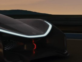 CES 2016: Faraday Future debuts it's pretty cool electric-car concept