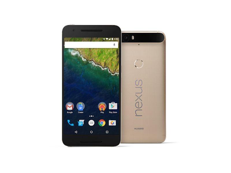 Gold Nexus 6P at CES 2016