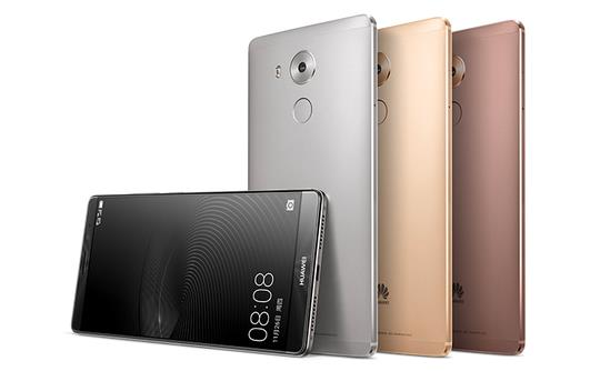 Mate 8 unveiled by Huawei at CES 2016