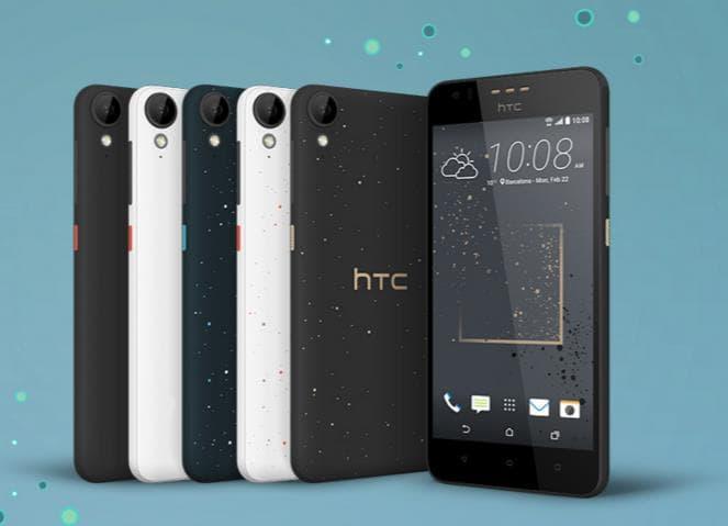 HTC Desire series MWC 2016