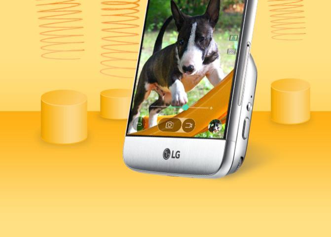 MWC 2016 LG G5