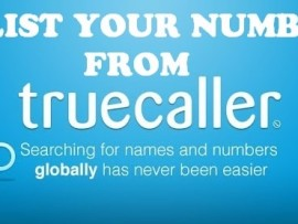 How to remove your number from Truecaller Database