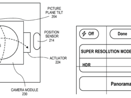 Patent for one-shot panorama granted to Apple