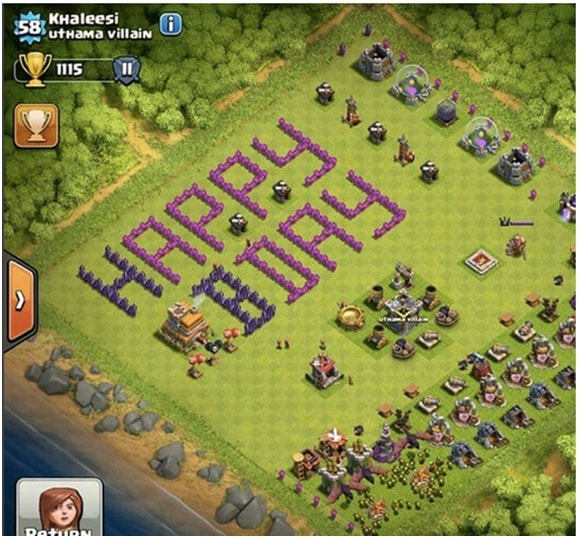 How does Clash of Clans earn profit