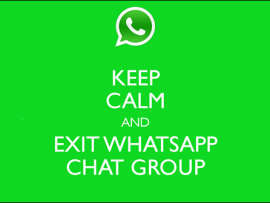 How to leave WhatsApp group permanently by making it unusable