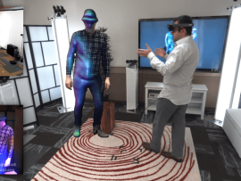 Get Connected in Real Time Via Microsoft's 'Holoportation'