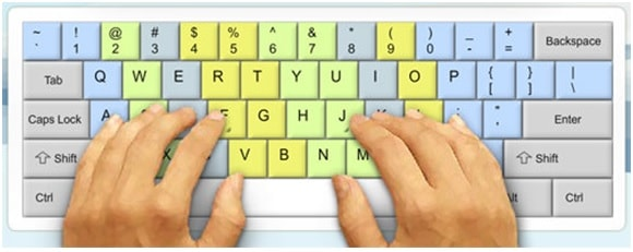 Reason behind bumps on keys F and J in keyboard