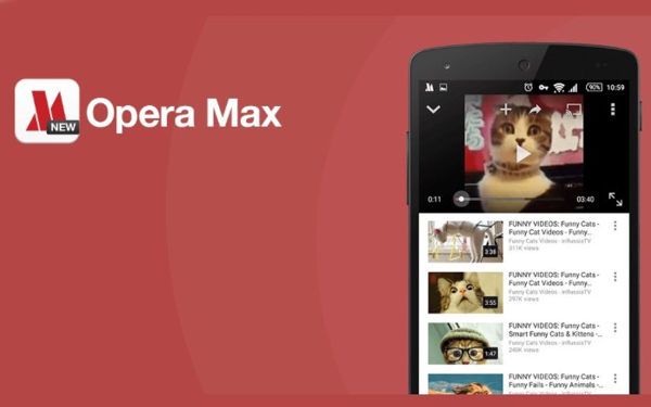 Best Android Apps you should have - opera max