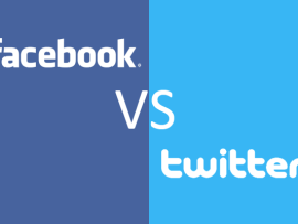 Facebook vs Twitter for Users and Marketing
