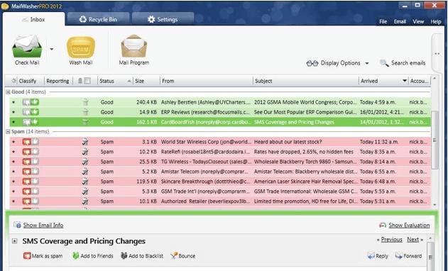 best spam blocker Android apps - mailwasher