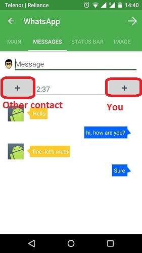 Yazzy Fake Messages for Android