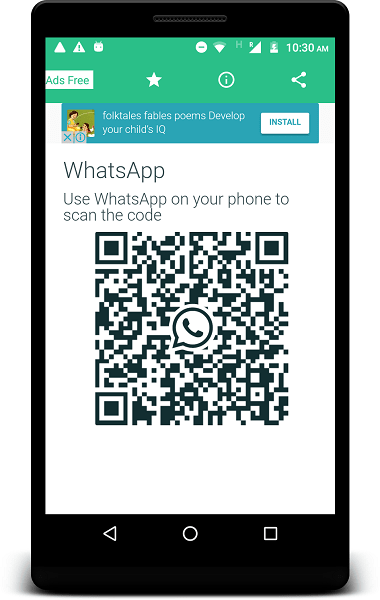 Free Android App to Track WhatsApp messages