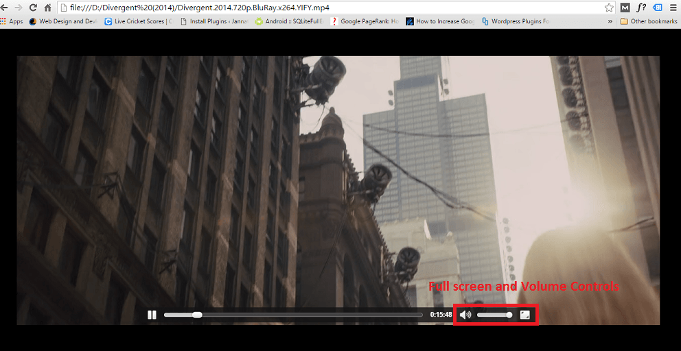 How to play video in Chrome without any plugin
